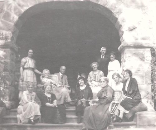 80th birthday party, August 2, 1922