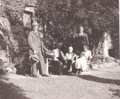 Family Members at Elliston - 1925